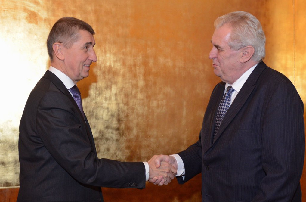 Zeman and Babis meeting to discuss Foreign Minister position - Czech Points