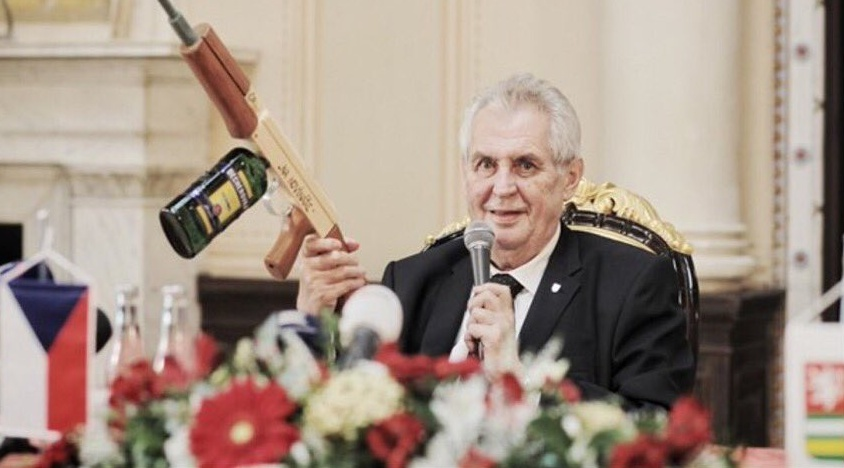 Zeman is a Madman says Michael Romancov - Czech Points