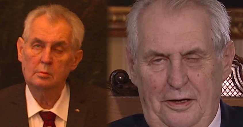 Zeman's Health Worsens - Neurologists Report Significantly Reduced Mental Capacity - Czech Points