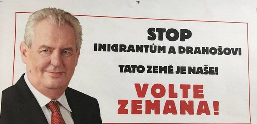 Zeman Rolls Out Drahos Attack Ads - Czech Points