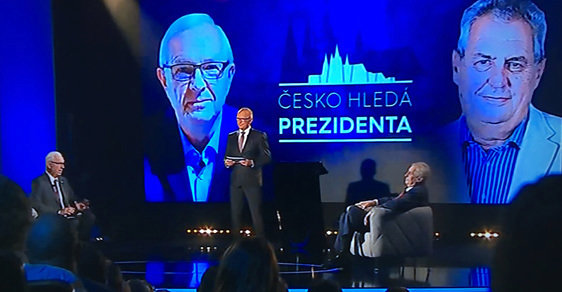 Debate Countdown: Drahos and Zeman Face Off Tonight - Czech Points