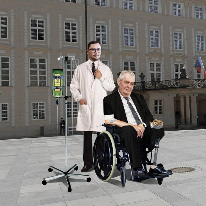 Zeman Tries to Hide Hospital Visit from Voters by Claiming Busy with Debate Prep - Czech Points