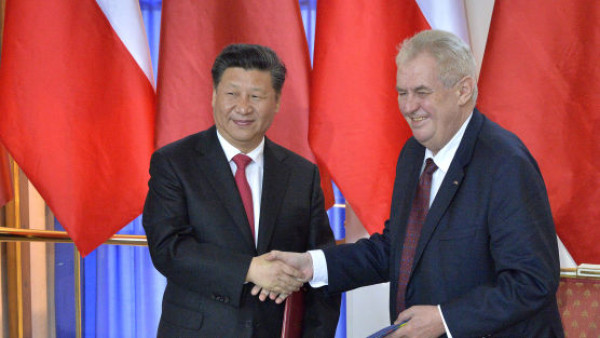 President Xi Congratulates Zeman on Election Victory - Czech Points