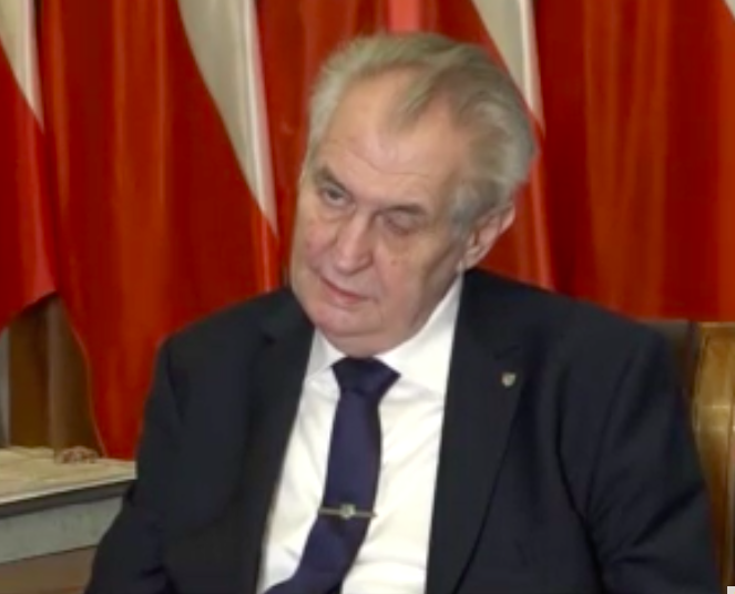 Zeman Manages to Spend Over CZK 17,000,000 Not Campaigning - Czech Points