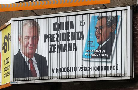 Zeman's Publisher Fined for Illegal Campaign Billboards - Czech Points
