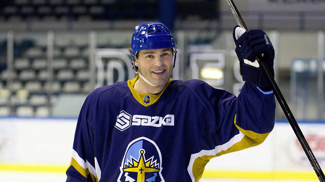 NHL Superstar Jaromir Jagr Comes Home - Signs with Kladno Knights - Czech Points