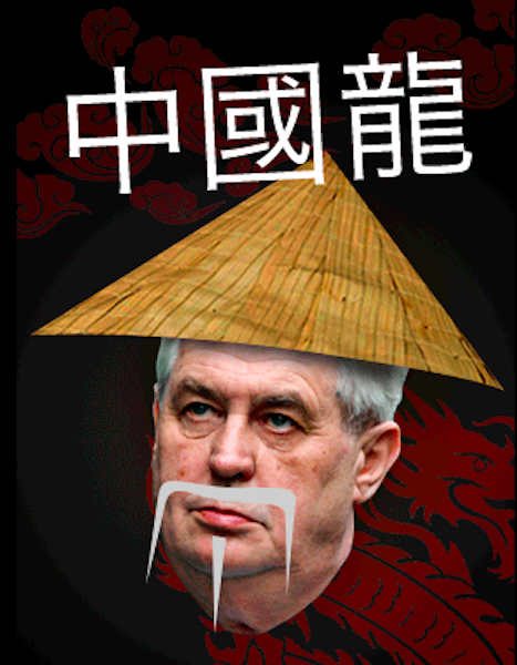 China's Influence Grows, Thanks to Zeman's Greed - Czech Points