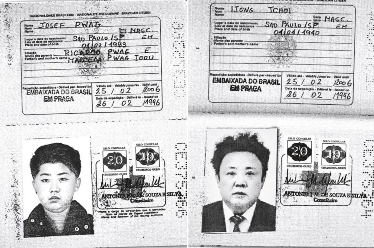 North Korean Leaders Fake Passports Issued by Embassy of Brazil in Prague - Czech Points