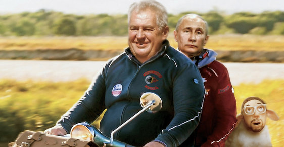 Putin's Man in Prague - Zeman Betrays Homeland, Lies about Novichok - Czech Points
