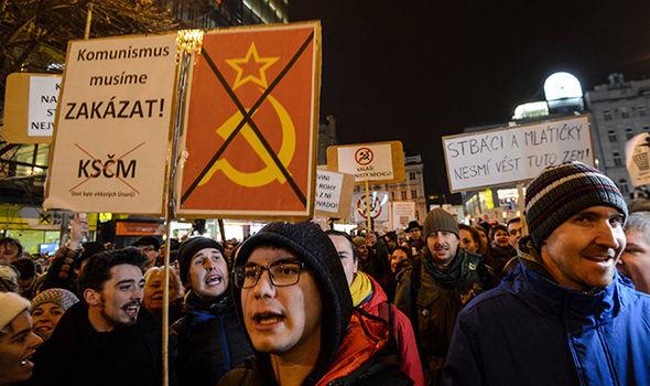 Thousands Protest PM Andrej Babis: Commie Riot Cop named Security Head - Czech Points