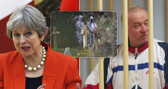 Putin Poisoned Spy Skripal! Brit PM Theresa May Calls Out Moscow! - Czech Points