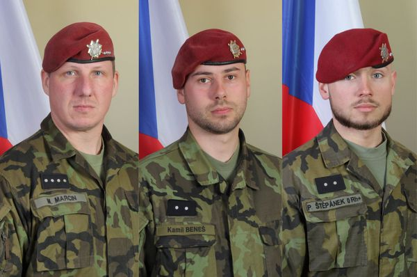 Slain soldiers promoted in memoriam - Czech Points