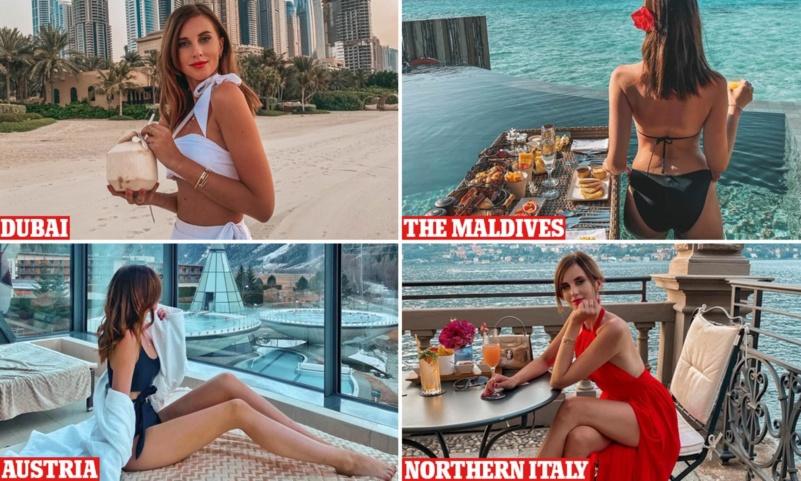 TikTok Influencer Barbora Ondrackova slammed for 'tone deaf' 2020 travel video - Czech Points