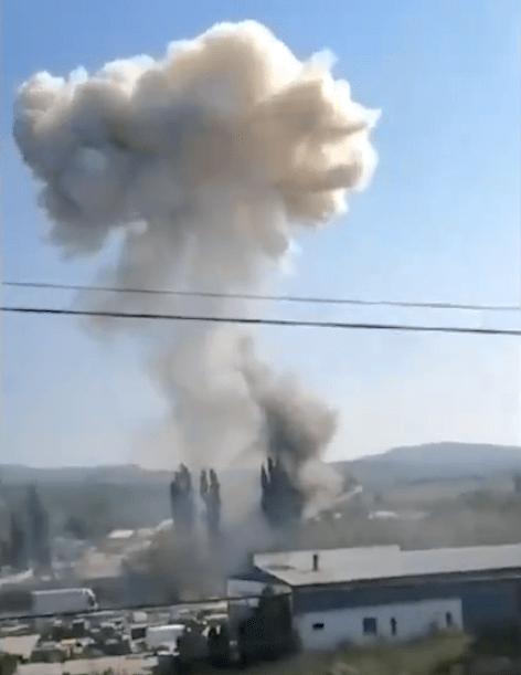 Police ammunition depot explodes in Bílina - Czech Points