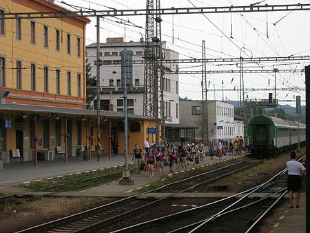 Two trains collide at Jihlava railway station - Czech Points