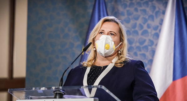 Minister Dostalova in quarantine after family member tests positive for COVID-19 - Czech Points