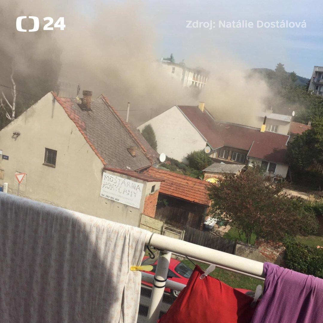 Damaged pipe to blame for gas explosion near Koryčany - Czech Points