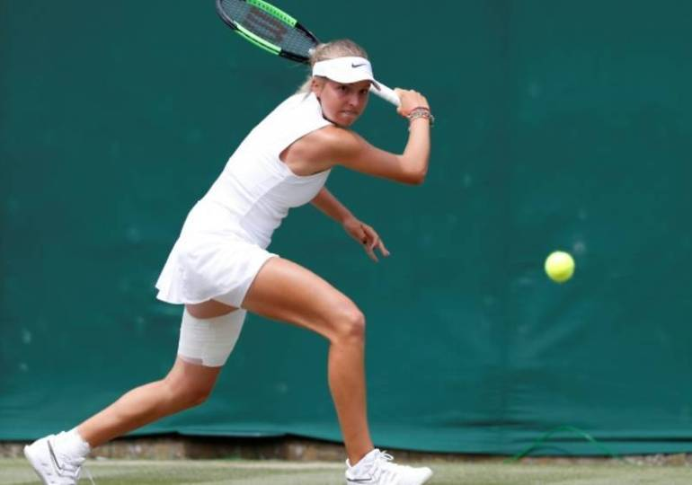 Linda Fruhvirtova at 14 is youngest player at Wimbledon - Czech Points