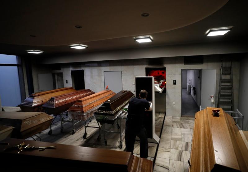 Biggest Czech crematorium overwhelmed by pandemic deaths - Czech Points