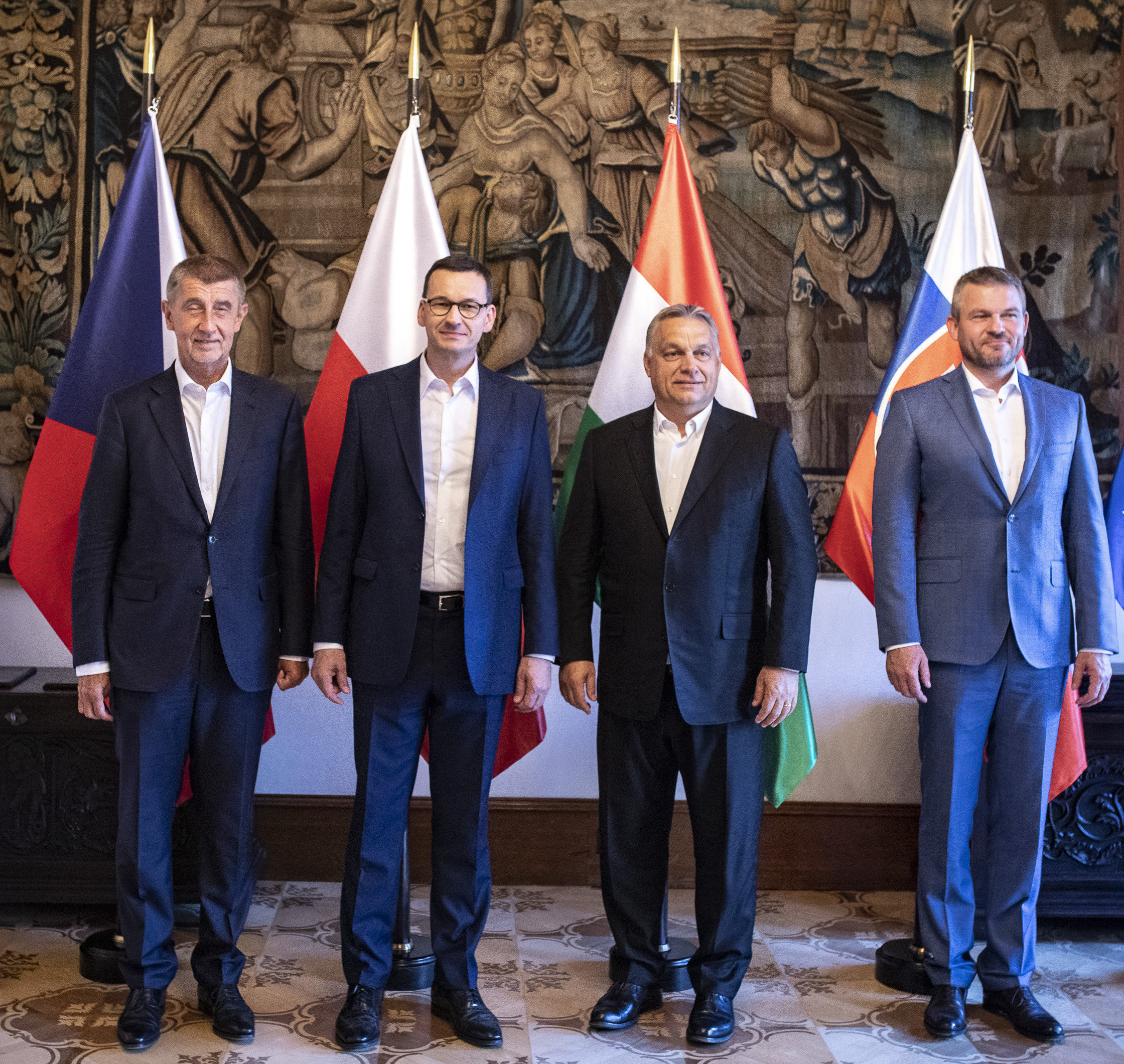 V4 leaders to meet about coronavirus - Czech Points